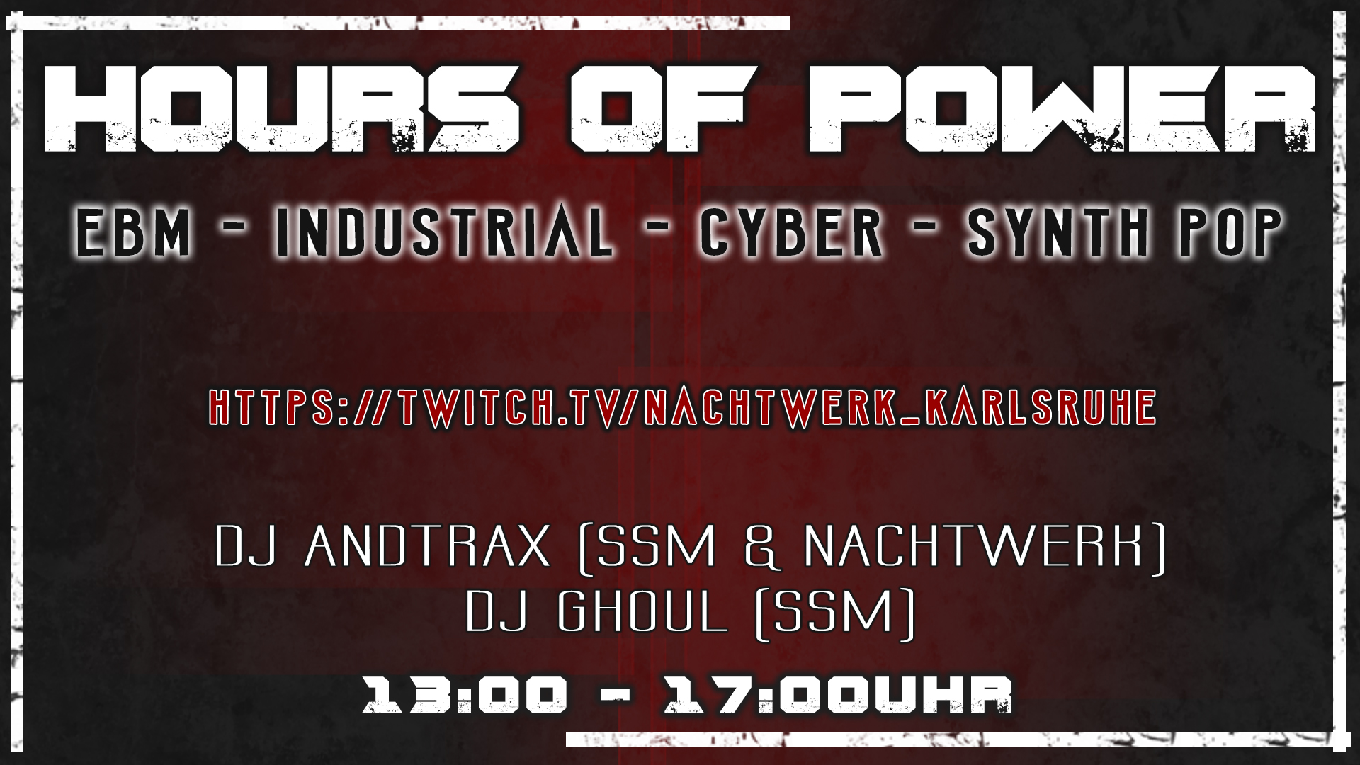 Hours Of Power - Live Stream Edition