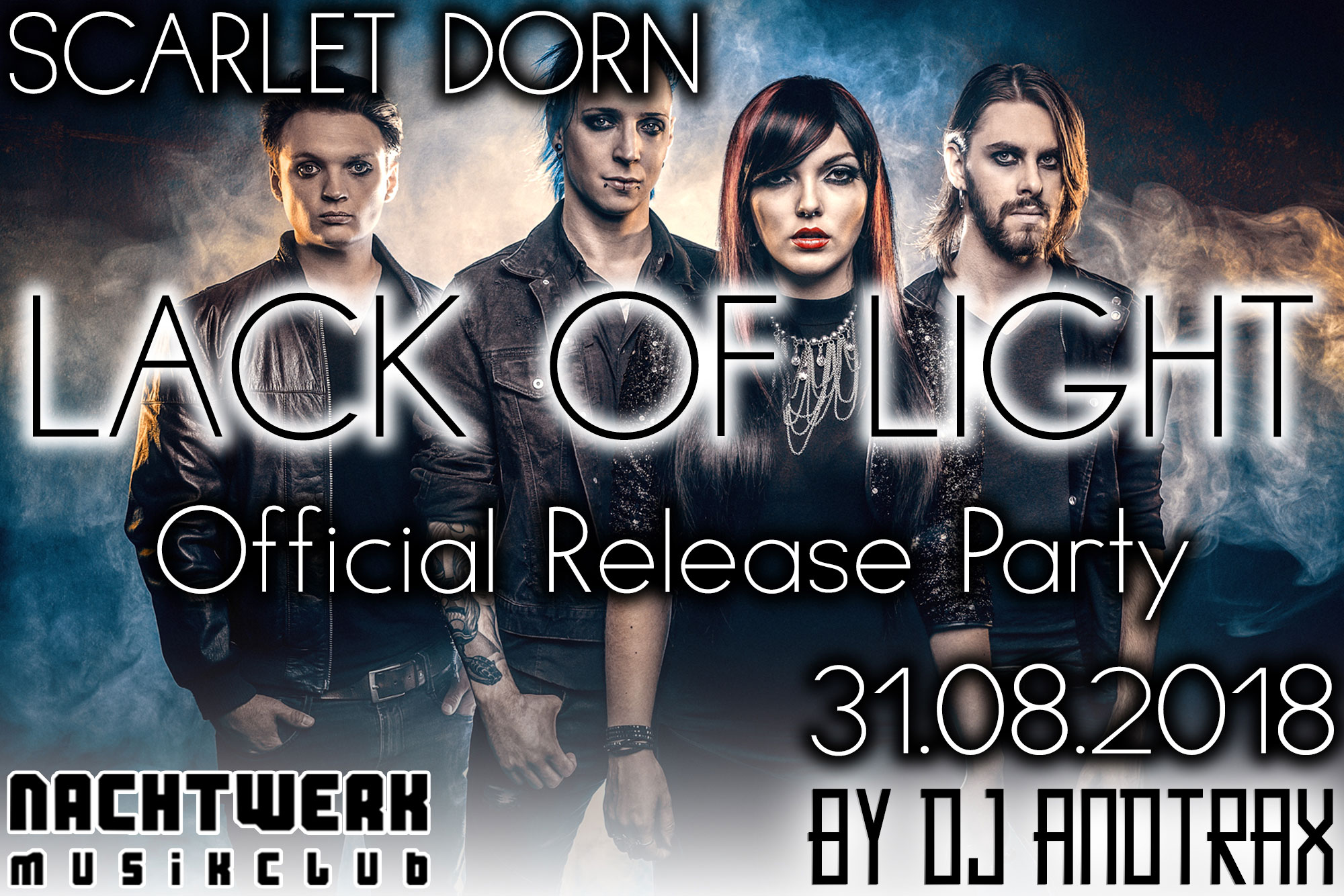 Lack of Light – Official Release Party