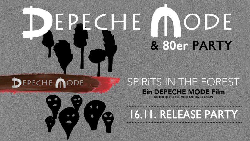 Die Depeche Mode & 80er Party im Nachtwerk Karlsruhe.