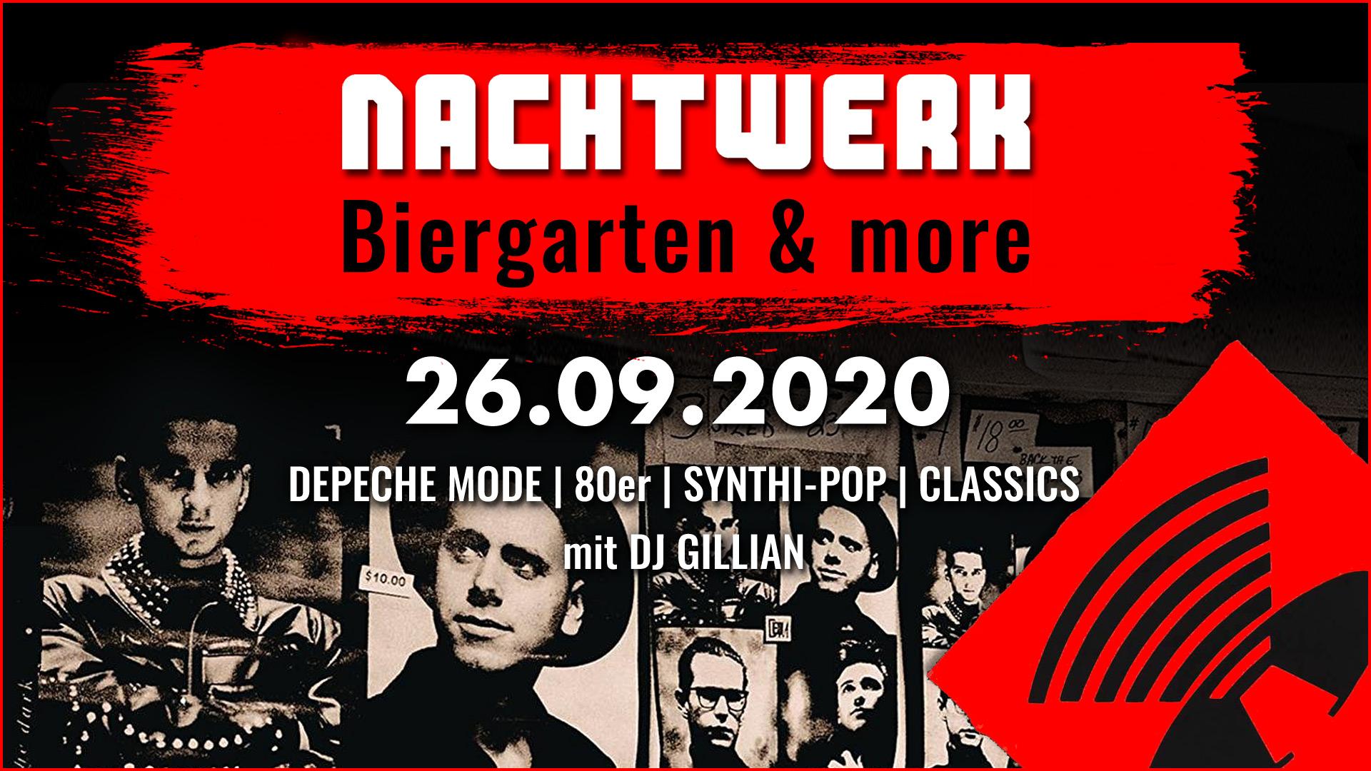 Biergarten & more: Depeche Mode & 80er