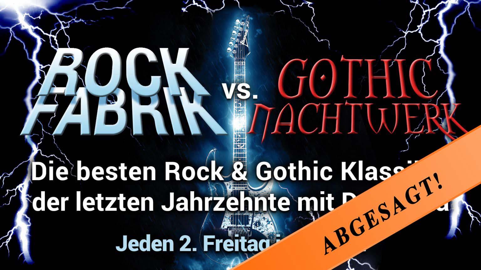 Rock Fabrik vs. Gothic Nachtwerk