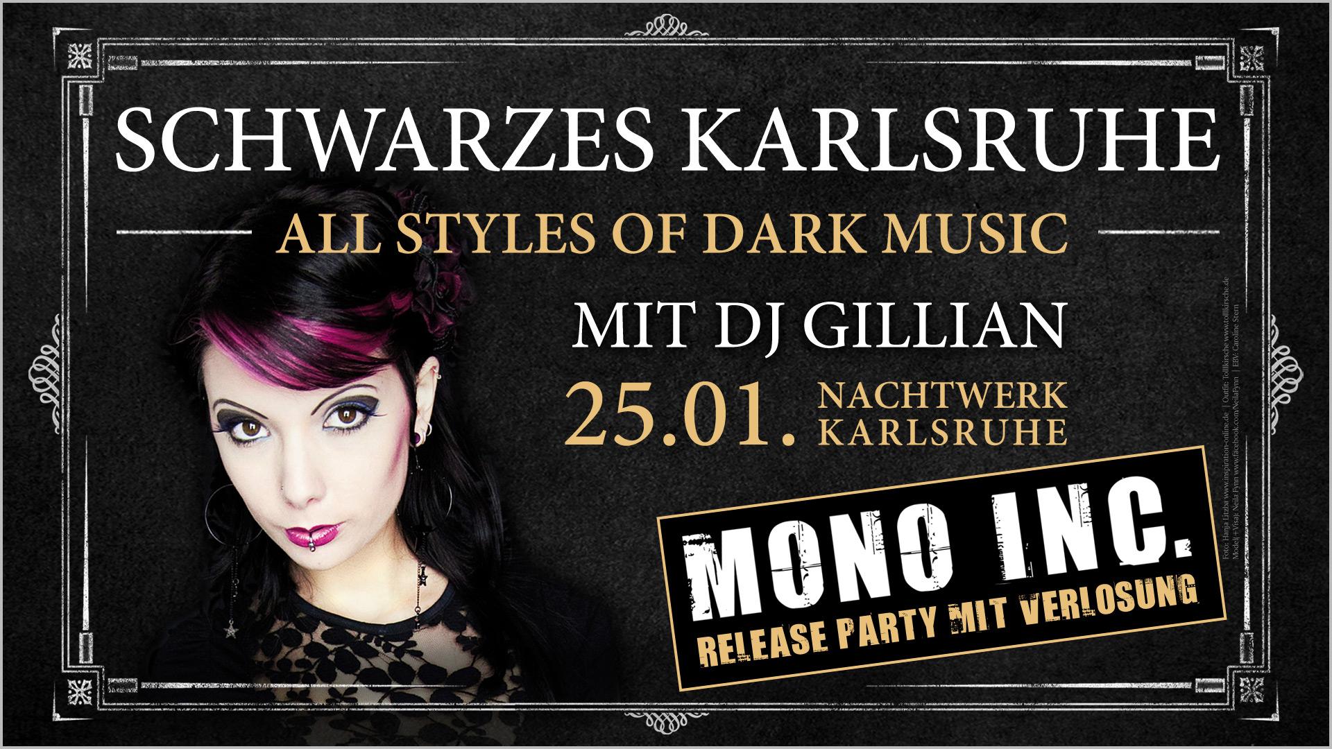 Schwarzes Karlsruhe & Mono Inc. Release Party