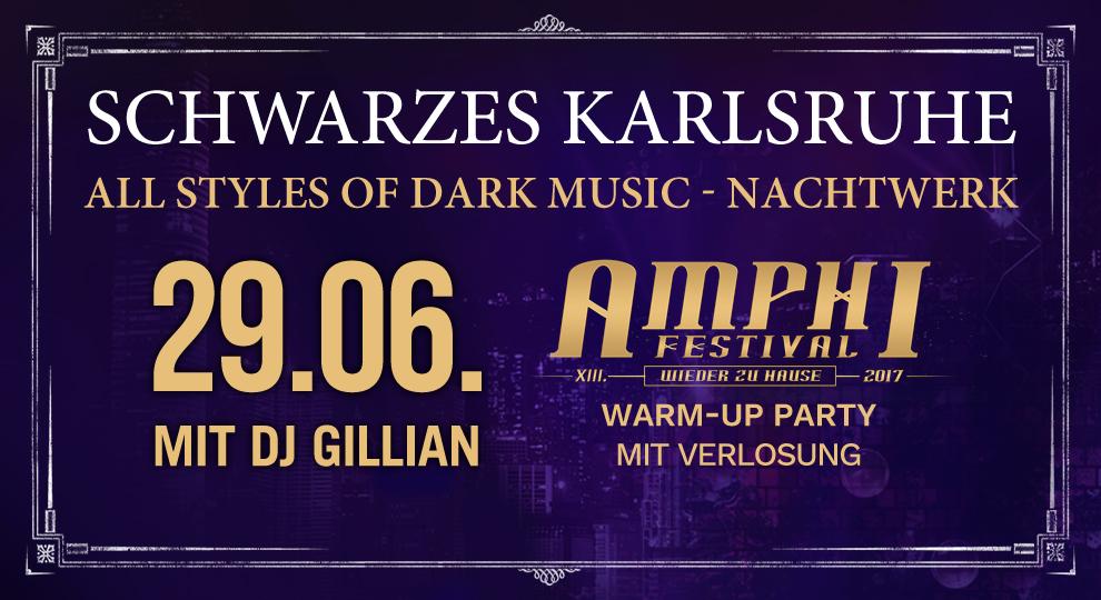 Schwarzes Karlsruhe - All Styles of Dark Music mit DJ Gillian im Nachtwerk Karlsruhe.