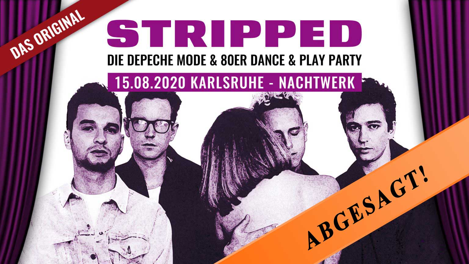 STRIPPED » Depeche Mode & 80er Erotik/Fetisch Dance & Play-Party